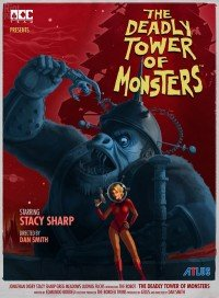 Poster: The Deadly Tower of Monsters