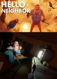 Poster: Hello Neighbor alpha 1