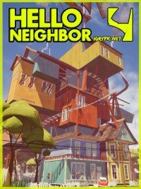 Poster: Hello Neighbor Alpha 4