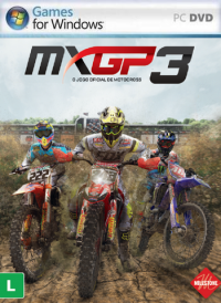 Poster: MXGP3 The Official Motocross Videogame