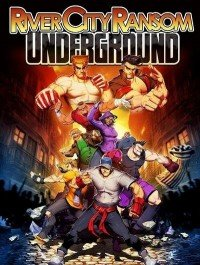 Poster: River City Ransom: Underground