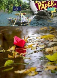 Poster: My Paper Boat