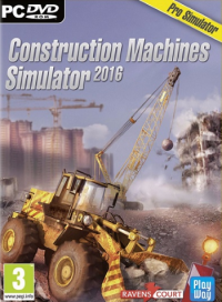 Poster: Construction Machines Simulator 2016