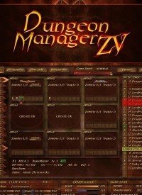 Poster: Dungeon Manager ZV
