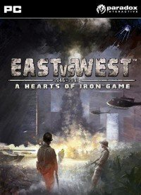 Poster: East vs West - A Hearts of Iron Game