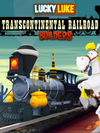 Poster: Lucky Luke: Transcontinental Railroad Builders