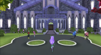 Screenshot №1: Monster High: New Ghoul in School